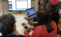 Solving a System of Equations Using the TI-Nspire Graphing Calculator – Alwina Green, math coach at Overbrook HS