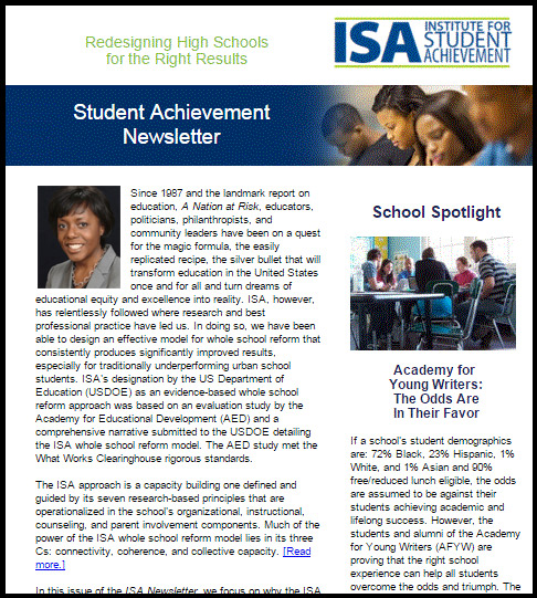 ISA Newsletter