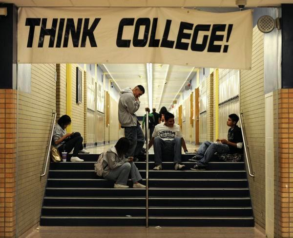 Encouraging Students to Persist to College